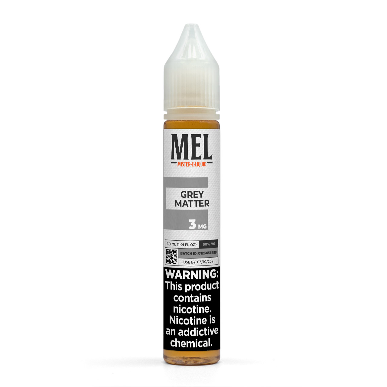 MEL Grey Matter Vape Juice, 3 mg