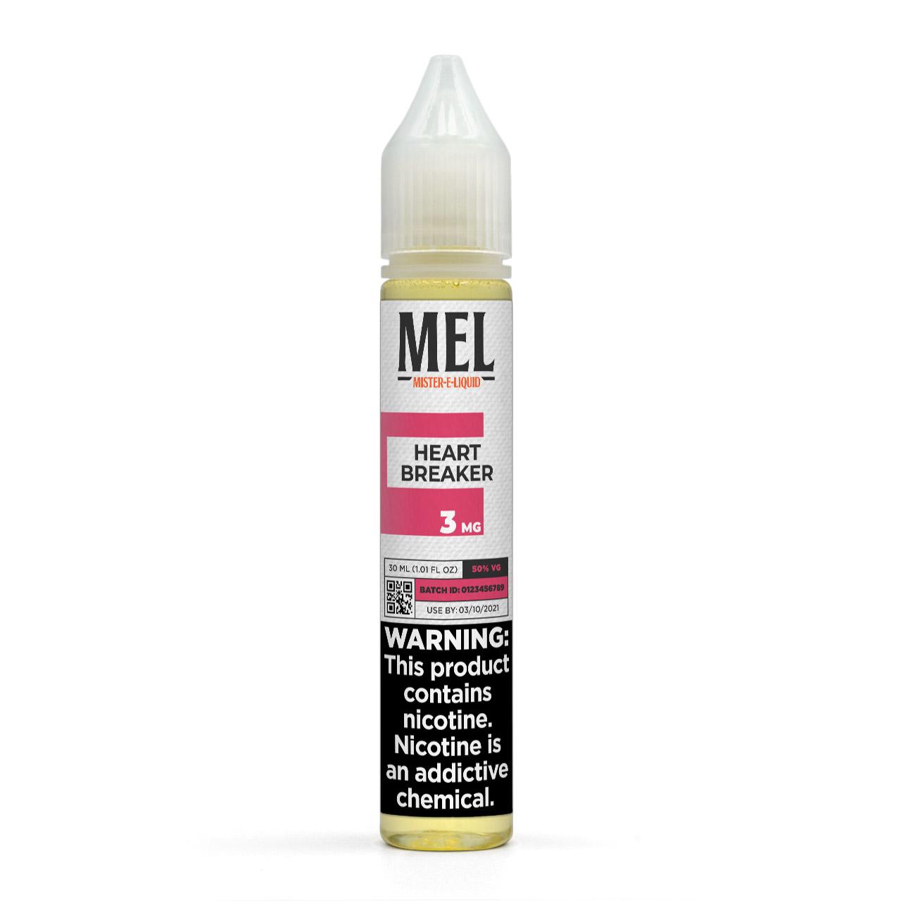 MEL Heartbreaker Vape Juice, 3 mg