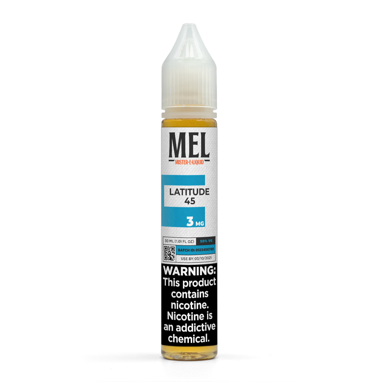 MEL Latitude 45 Vape Juice, 3 mg