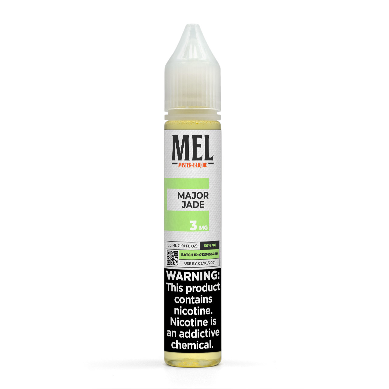 MEL Major Jade Vape Juice, 3 mg