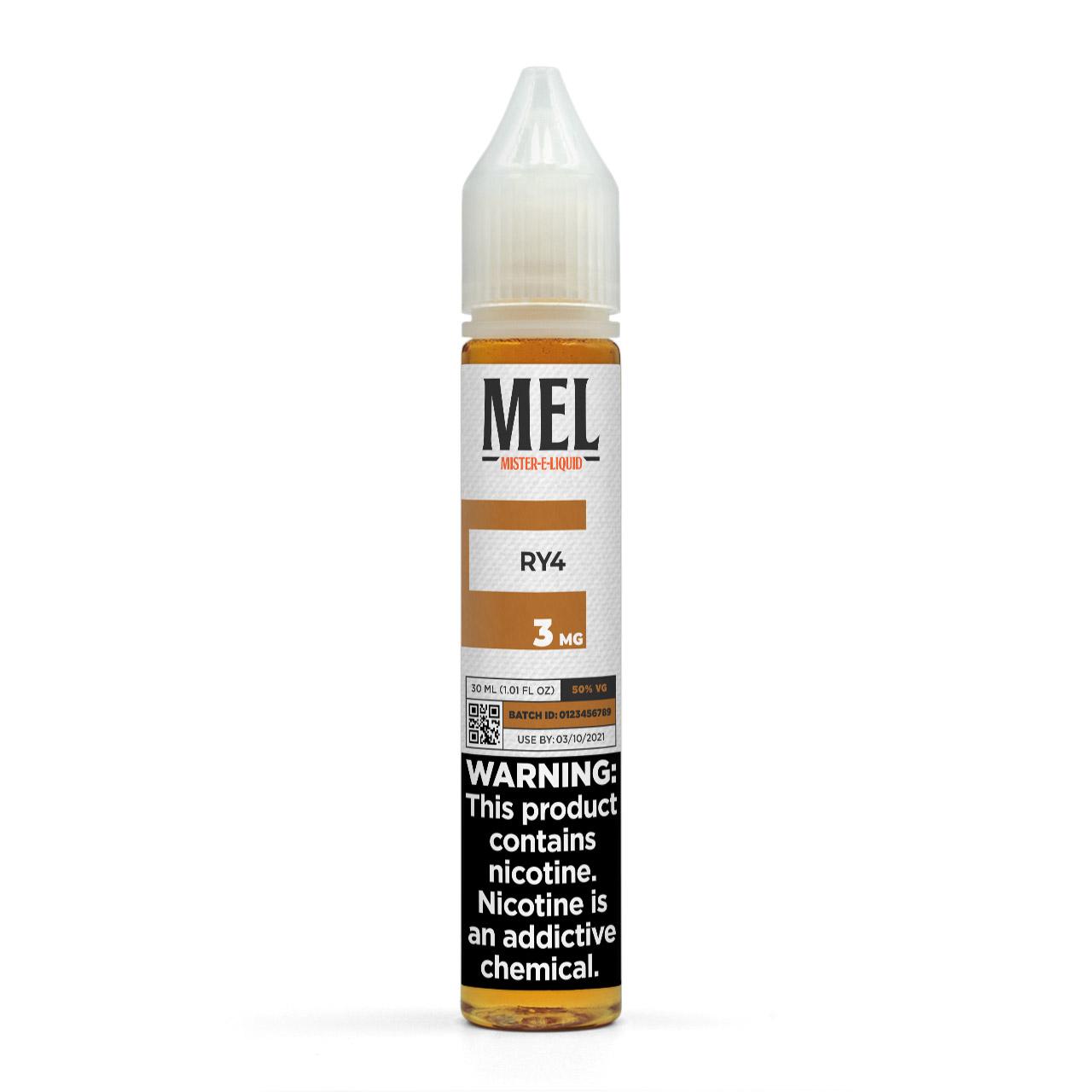 MEL RY4 Vape Juice, 3 mg