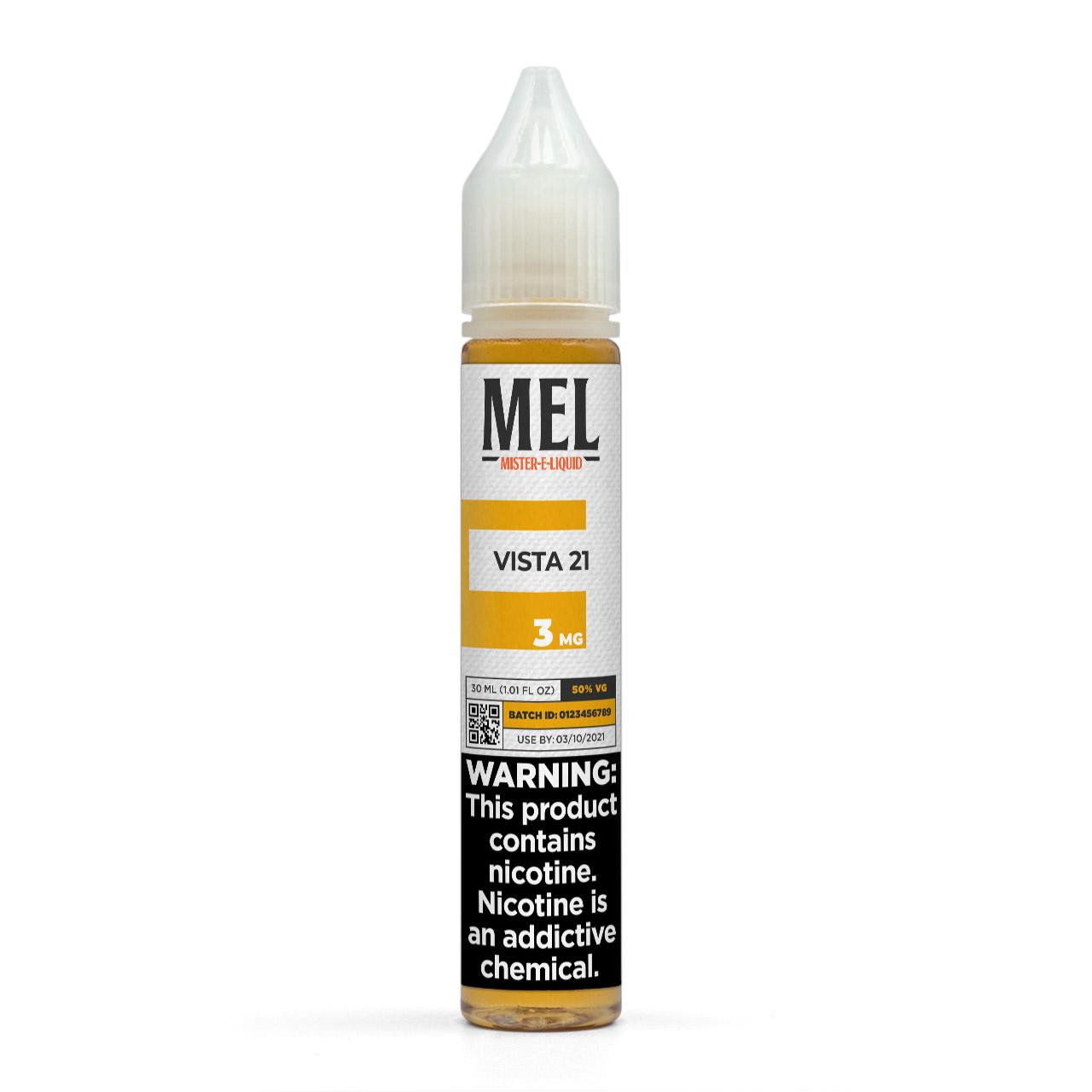 MEL Vista 21 Vape Juice, 3 mg
