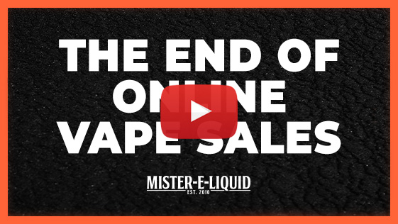 Video Link to The End of Online Vape Sales